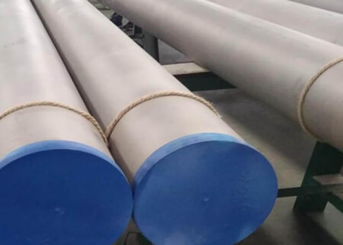 ASTM A790 UNS S31803 S32750 S32760 डुप्लेक्स स्टेनलेस स्टील पाइप