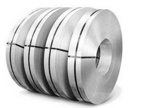 स्टेनलेस स्टील स्ट्रिप AISI 441 EN 1.4509 DIN X2CrTiNb18