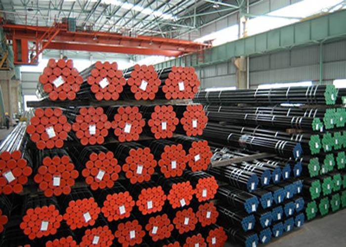 एपीआई L एल, एपीआई CT सीटी, ASTM A106 / A53, DIN 2391, EN10305, EN10210 कार्बन मिश्र सिमलेस स्टील पाइप