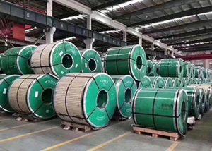 ASTM JIS DIN GB संग स्टेनलेस स्टील कोइल